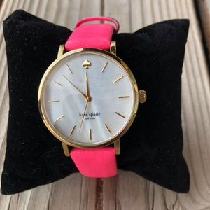 Kate Spade Live Colorfully Watch in Bright Pink!
